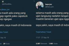 10 Cuitan kocak 'masih di Indonesia' ini bikin ngakak sampai Merauke