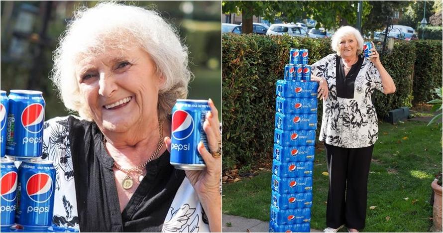Kisah wanita hanya minum soda selama 64 tahun ini bikin melongo