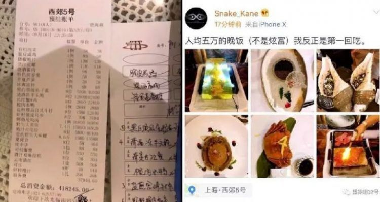 Makan di restoran, 8 turis ini harus bayar makanan hingga ratusan juta