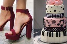 Desainnya mirip kue, 7 sepatu ini bikin ragu mau memakainya