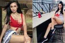 10 Pesona Putri Juby, model seksi yang lagi dekat dengan Delon Idol