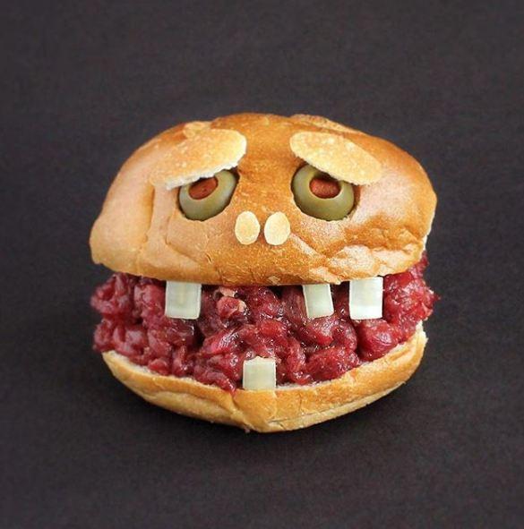sandwich lucu kasia haupt © Instagram/@sandwichmonsters