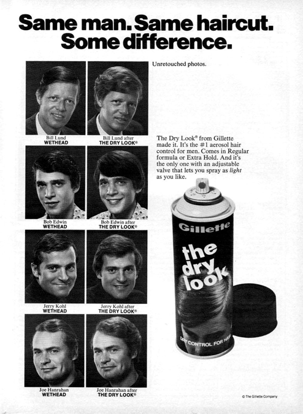 10 Poster langka model potongan rambut tahun 1950-1980 c8520b30a5
