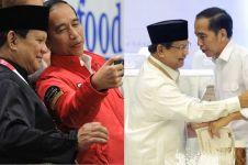 Jadi lawan politik, ini 10 momen akrab Jokowi & Prabowo jelang Pilpres