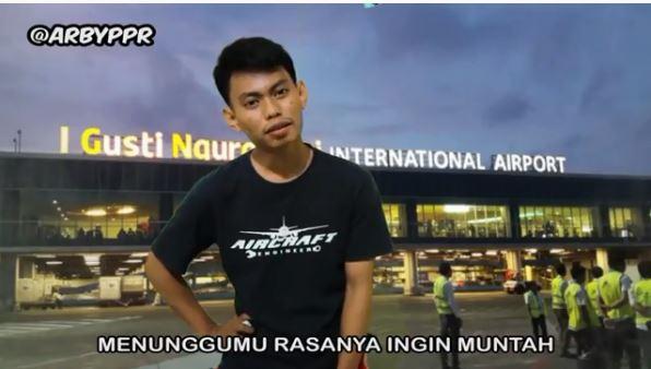 kepanjangan nama bandara instagram