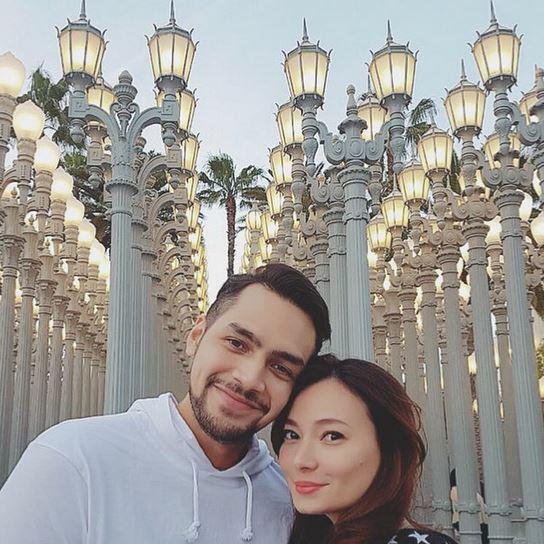 gaya liburan aktris cinta suci instagram
