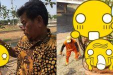 Bersihkan kali, benda yang ditemukan Pasukan Oranye ini serem abis