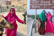 8 Momen Ria Ricis rayakan 6 juta subscriber di Palestina, seru banget