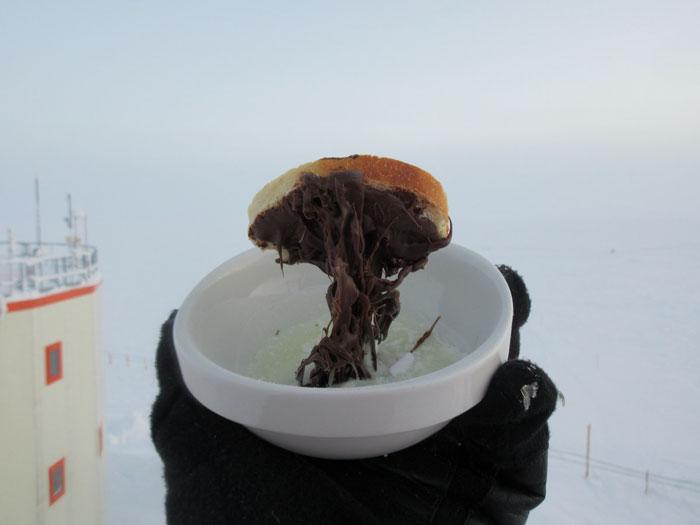 kamu masak di Antartica twitter