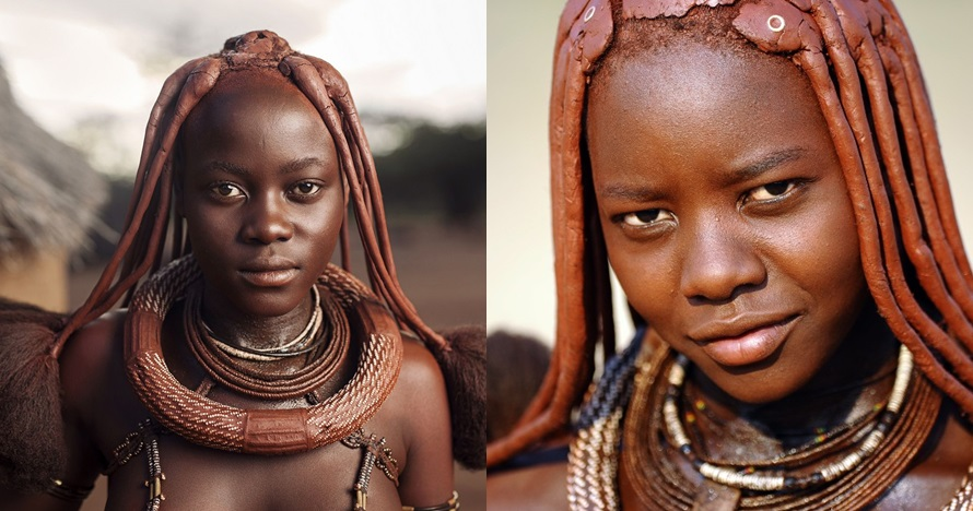 Ritual kecantikan wanita di suku ini tak pernah mandi pakai air