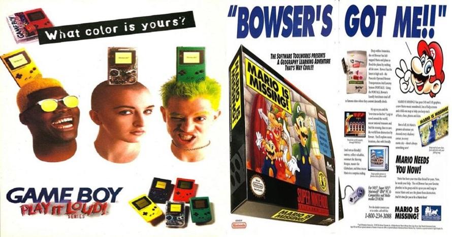11 Poster iklan video game era 90-an ini bikin kamu kangen masa kecil