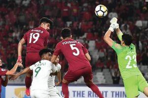 Sempat bangkit dan cetak 4 gol, Indonesia harus takluk dari Qatar