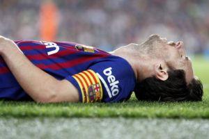 10 Meme meratapi cedera Lionel Messi, bikin pecinta bola makin nyesek