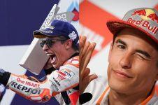 10 Pesona Marc Marquez, juara dunia MotoGP 2018 bikin cewek meleleh