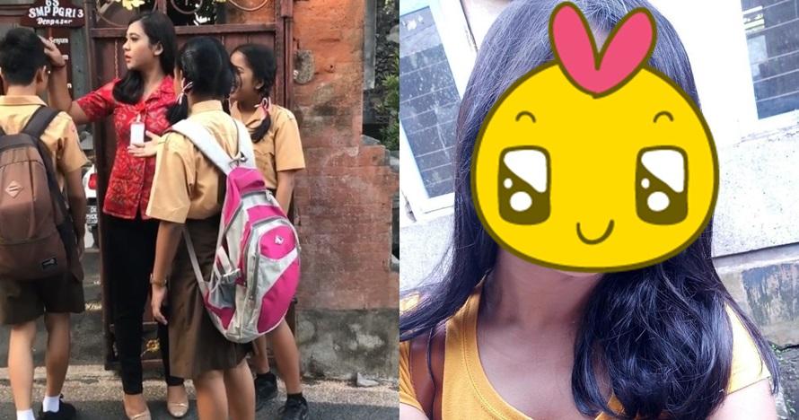 10 Pesona Karin, guru cantik asal Bali yang bikin murid lupa berkedip