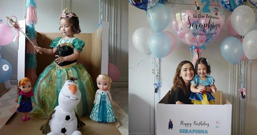 Rayakan ulang tahun ke-2, ini 14 potret lucu putri Yasmine Wildblood