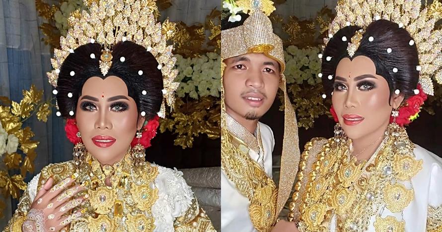 10 Momen pernikahan Evi Masamba & Arif Hajrianto, kental adat Bugis