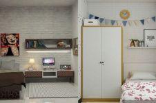 12 Desain kamar mungil ini cozy abis, bisa jadi inspirasi