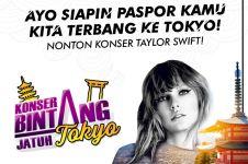 Mau jalan-jalan ke Tokyo sambil nonton Taylor Swift? Ikuti kuis ini!