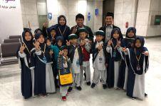 Kisah 15 anak yatim Indonesia pergi umrah & tertahan di bandara Jeddah