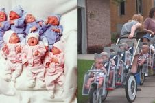 Kini berusia 21 tahun, ini 16 potret transformasi bayi kembar tujuh