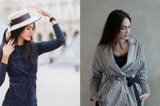 Dibilang mirip, ini 8 potret adu gaya Paula Verhoeven dan Luna Maya