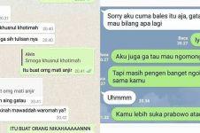 11 Chat mencoba PDKT ini kocaknya bikin ogah menjomblo