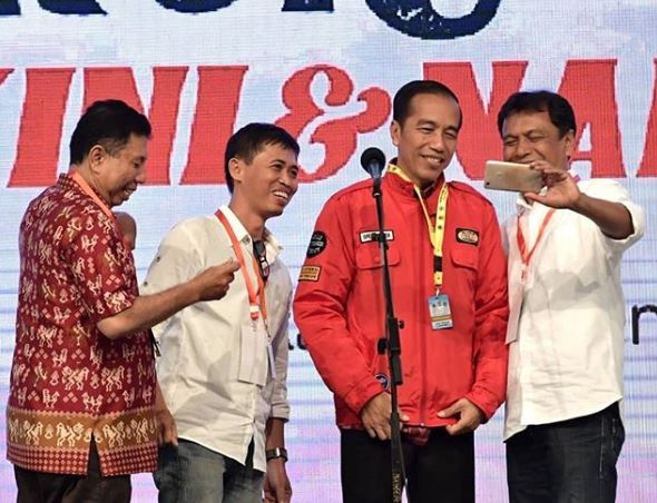 Jaket Jokowi istimewa