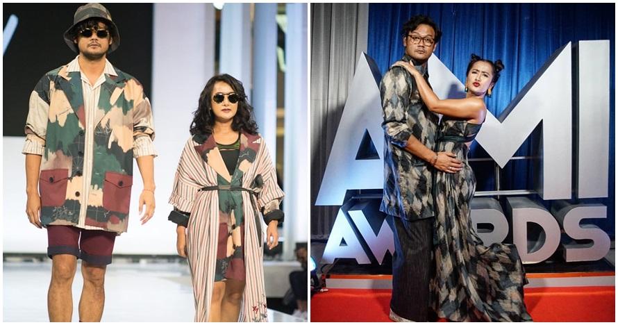 10 Potret kompak Dwi Sasono & Widi Mulia yang kerap pakai baju couple