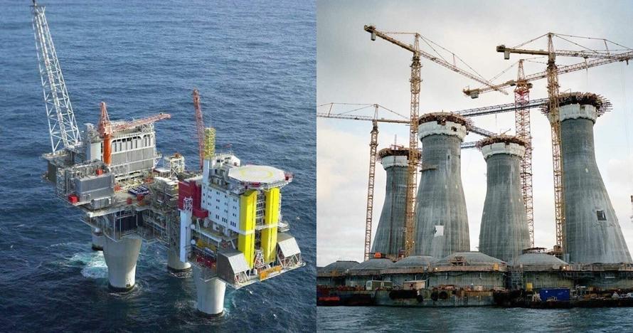 Kamu mungkin penasaran, ini lho struktur bawah laut kilang minyak