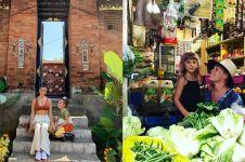 Liburan di Bali, 4 seleb mancanegara ini blusukan ke pasar tradisional