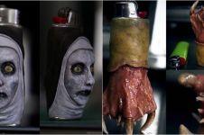 20 Korek api gas ini cocok buat pecinta horor, desainnya serem abis