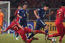 Meskipun kalah, pertahanan Timnas U-19 bikin repot Jepang
