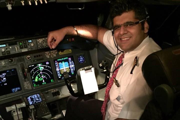 Ini Bhavye Suneja, pilot Lion Air yang jatuh di perairan Karawang
