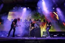 Konser Megadeth di Jogja, ada video Jokowi dan dihadiri Ganjar Pranowo
