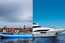 10 Foto ini gambarkan kondisi dua belahan dunia berbeda, kontras abis