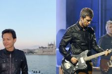 10 Potret ini bukti kalau gaya Fedi Nuril mirip sama Noel Gallagher