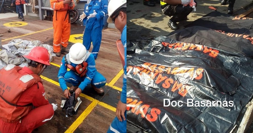 Petugas temukan potongan tubuh balita dan seragam pramugari Lion Air