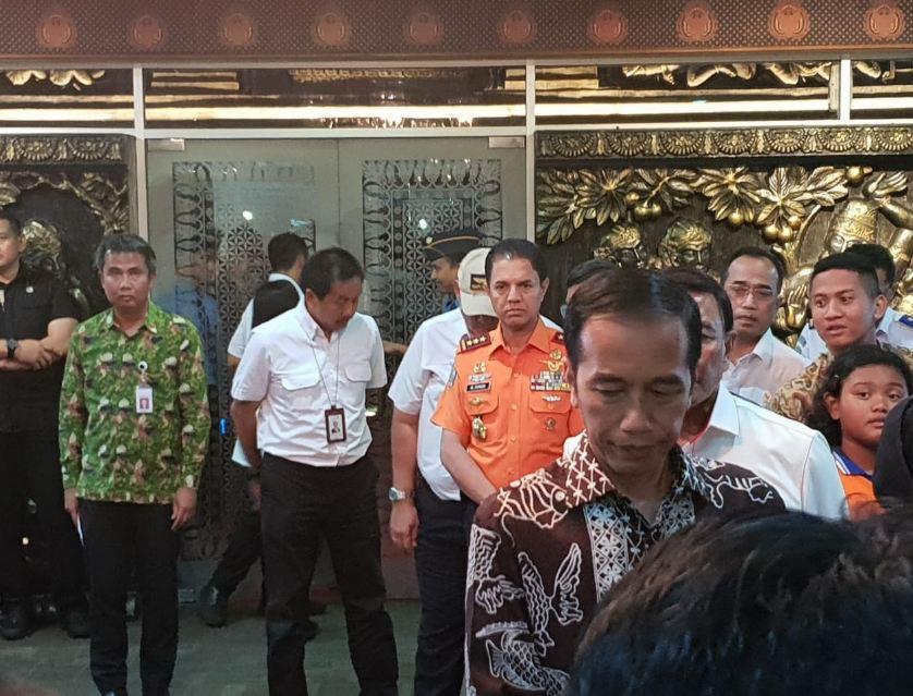 Jokowi kunjungi keluarga korban di crisis centre © 2018 brilio.net berbagai sumber
