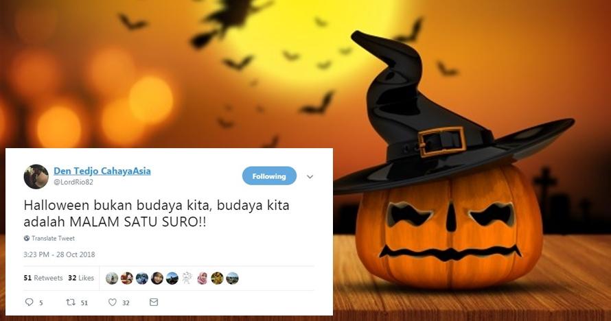 10 Cuitan kocak 'Halloween bukan budaya kita' ini bikin angguk setuju