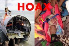 Ini 5 hoax soal jatuhnya Lion Air JT 610 beserta klarifikasinya