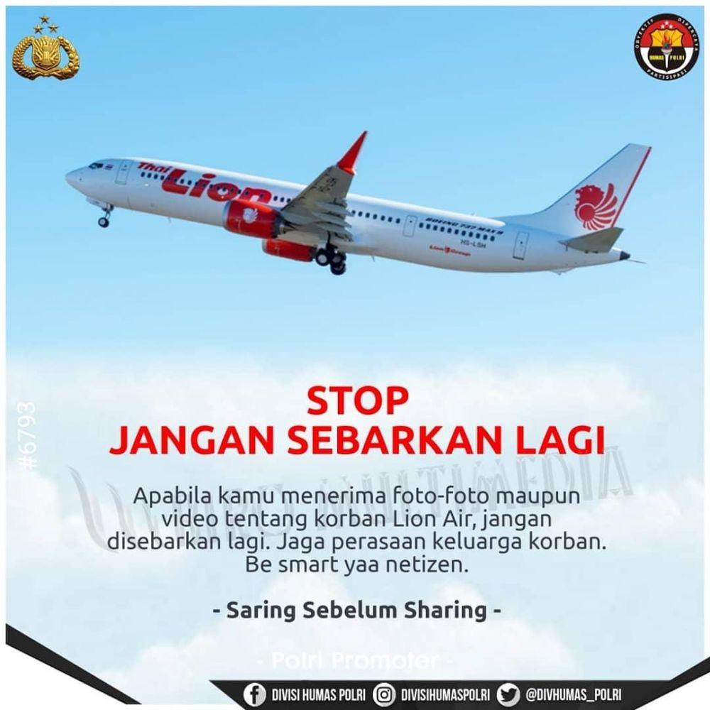 ilustrasi dukungan Lion Air JT 610 © 2018 brilio.net