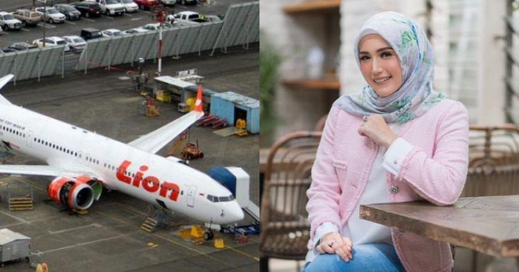Ini potret nostalgia Adelia saat jadi pramugari Lion Air, memesona