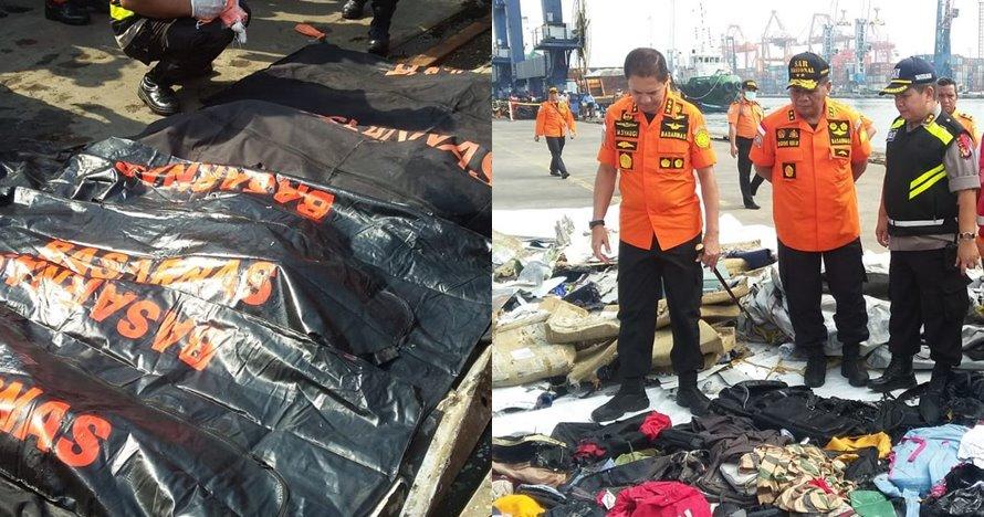 5 Fakta ditemukannya 48 kantong korban kecelakaan Lion Air JT 610