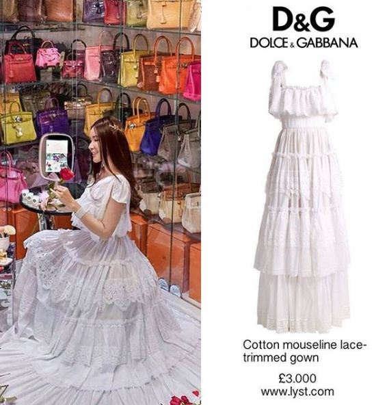 jamie chua dress © Instagram/@jamiechua_closet