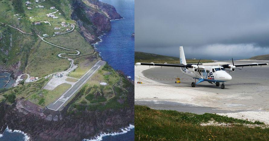 5 Bandara terkecil di dunia, ada yang landasan pacunya di pantai
