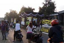 Warga tuntun motor lewat rumah Jannatun korban Lion air, bentuk hormat
