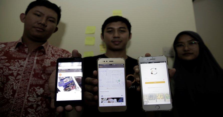 Gifood, aplikasi berbagi makanan berlebih karya mahasiswa