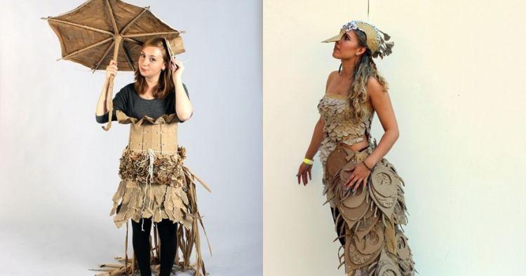 15 Fashion unik terbuat dari kardus ini detailnya kece banget