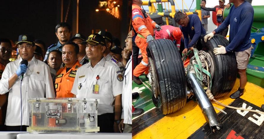 8 Bagian pesawat Lion Air JT 610 yang berhasil ditemukan